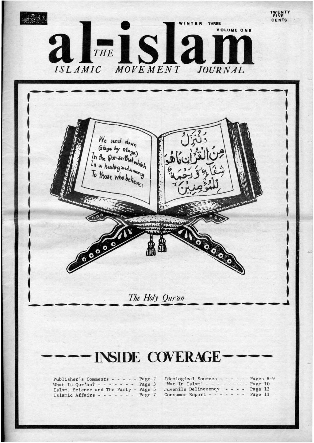 Al-Islam, 1972, Vol  1, Winter 3 - After Malcolm